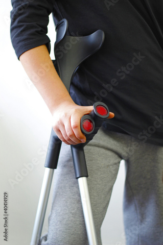 Crutches - Person