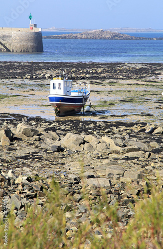 Low tide in Roscoff