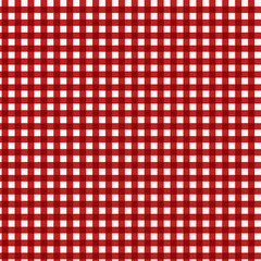 Pattern picnic red