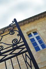 Portail, maison, immobilier, grille, fer forgé, archiitecture