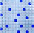 blue mosaic,texture
