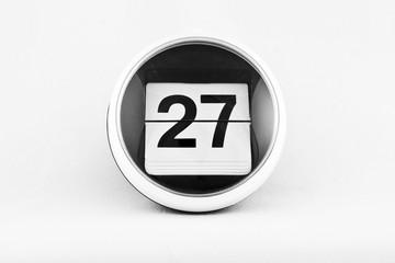 Kalendarz listkowy - 27