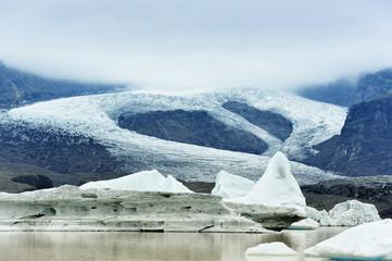Fjallsarlon glacier lake, Iceland