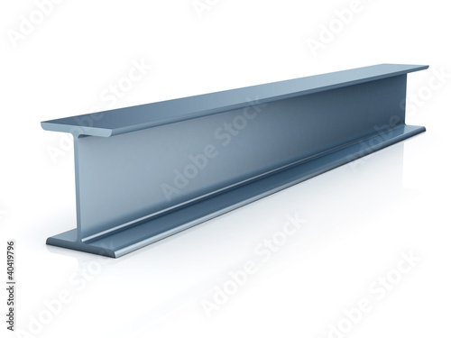 metallic joist isolated
