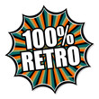 button splash 100% retro I