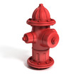 fire hydrant 3d illustration