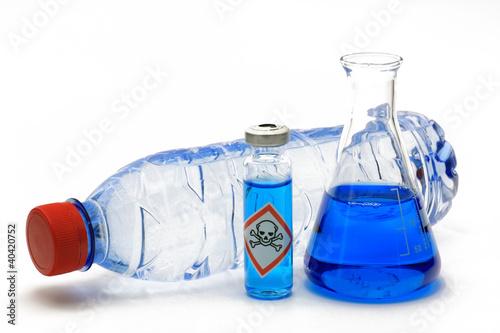 wasserflasche gift