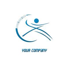 logo sport, salle de sport