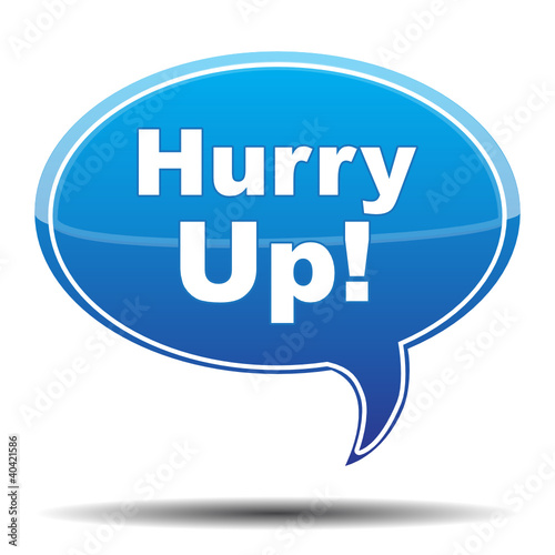 """HURRY UP! ICON"" Stock image and royalty-free vector files ..."