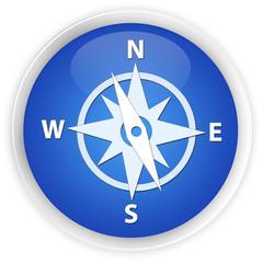Compass blue button