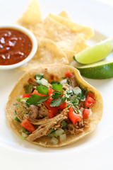 Shredded Pork Taco