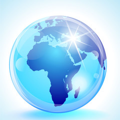 Europe, Africa & the Middle East Globe