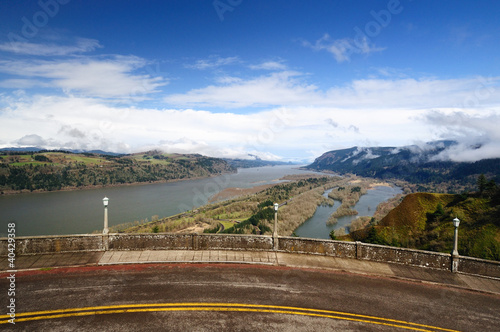 A view from The Columbia River George and the Vista Point