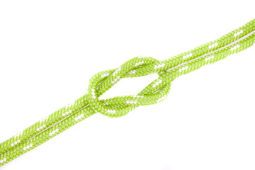green rope knot