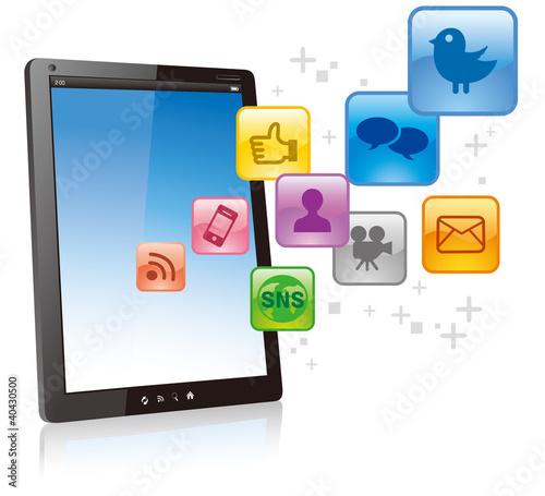 digital tablet business computer