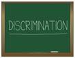 Discrimination concept.