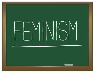 Feminism concept.