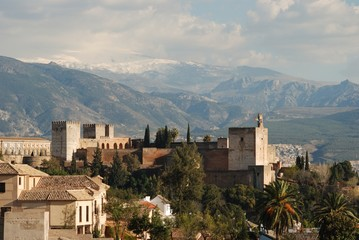 Palace of Alhambra, Granada, Spain © Arena Photo UK