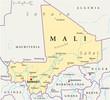 Mali map