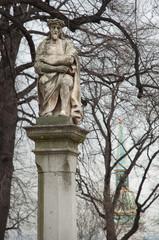 Bratislava castle statue