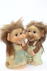Danish troll dolls (close up)