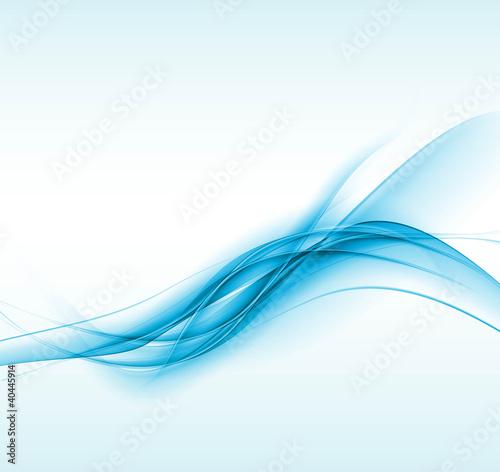 nowy niebieski skład wektor fala