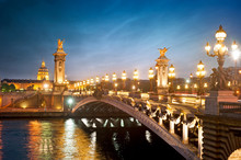 Pont Alexandre 3 - Paris - France