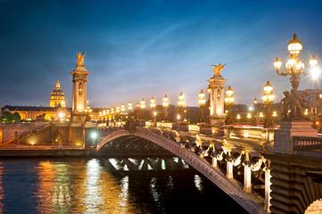 Pont Alexandre 3 - Paris - France