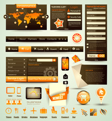 Web Stuff Collection: icons,headers,footers,login...