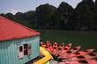 kayak nella baia di halong