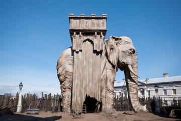 Elephant of the Bastille in Greenwich