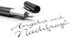 Angebot und Nachfrage! - Stift Konzept