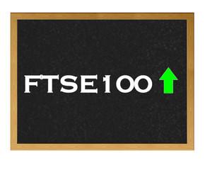 FTSE 100 positive.