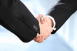 Erfolg | Businesskonzepte | Handschlag