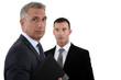 Businessmen with briefcase