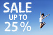 25 Percent Sale Poster
