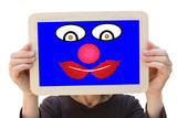 Clown Circus Parade poster