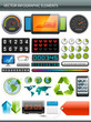 Infographics collection. Information graphics design elements