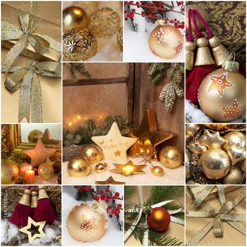 weihnachtliche motive in gold und rot von jeanette dietl. Black Bedroom Furniture Sets. Home Design Ideas