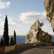 Road in Amalfi