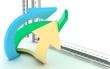 frecce 3D grande