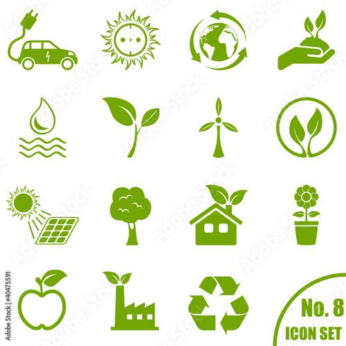 Umwelt - Icon Set - 40475591