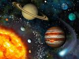 Fototapety 3D Solar System