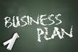 """Chalkboard """"Business Plan"""""""