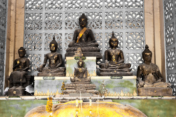 Small Buddha Bronze Age image style various