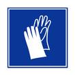 Señal uso de guantes de proteccion