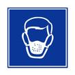 Señal uso de mascarilla respiratoria