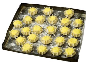 pardulas da infornare - dolci tipici dalla Sardegna