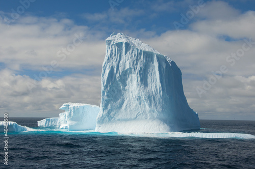 Big iceberg in Antarctic ocean