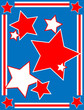 EPS8 Vector Patriotic Star Background